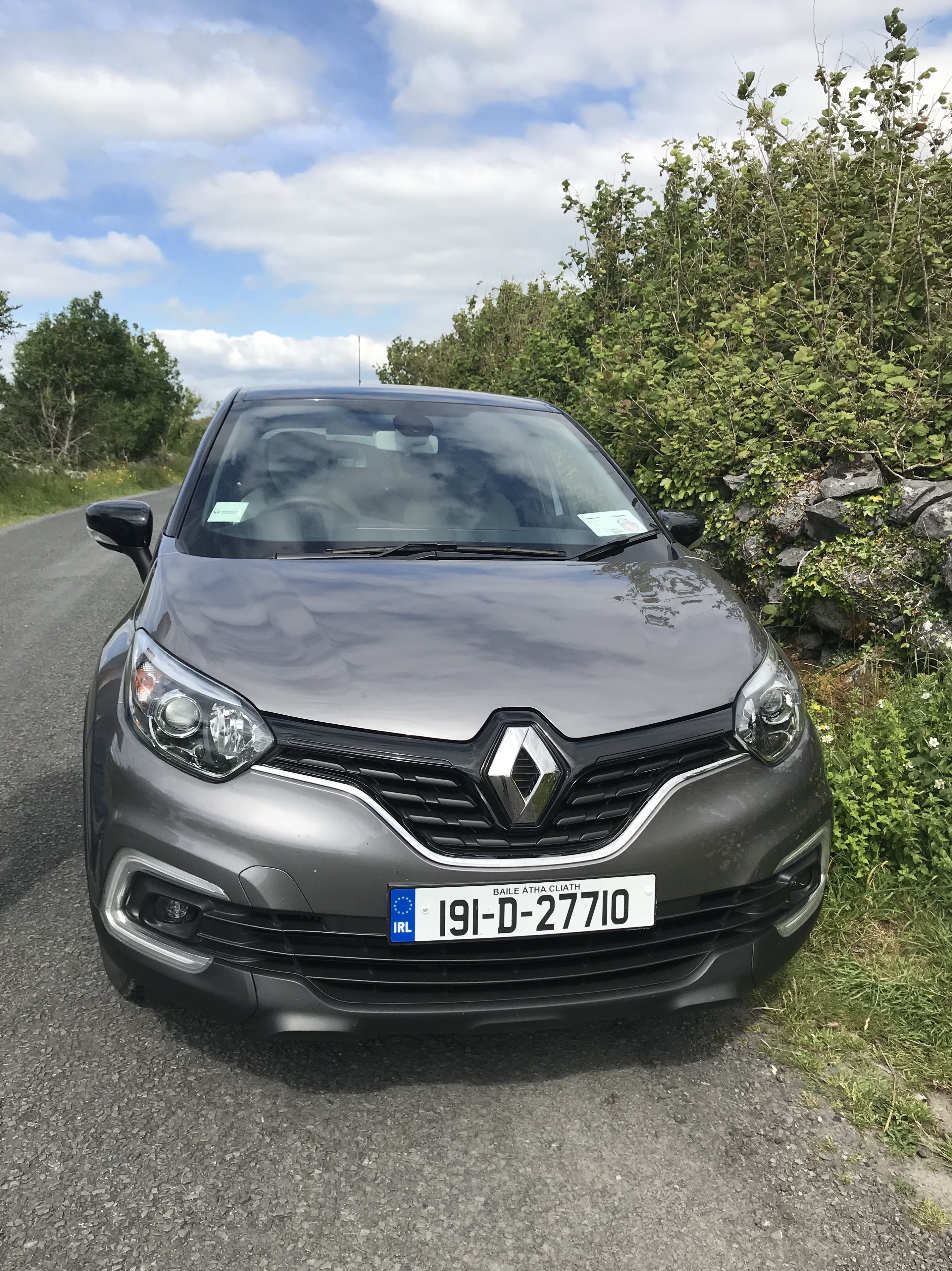 The Renault Captur car we hired