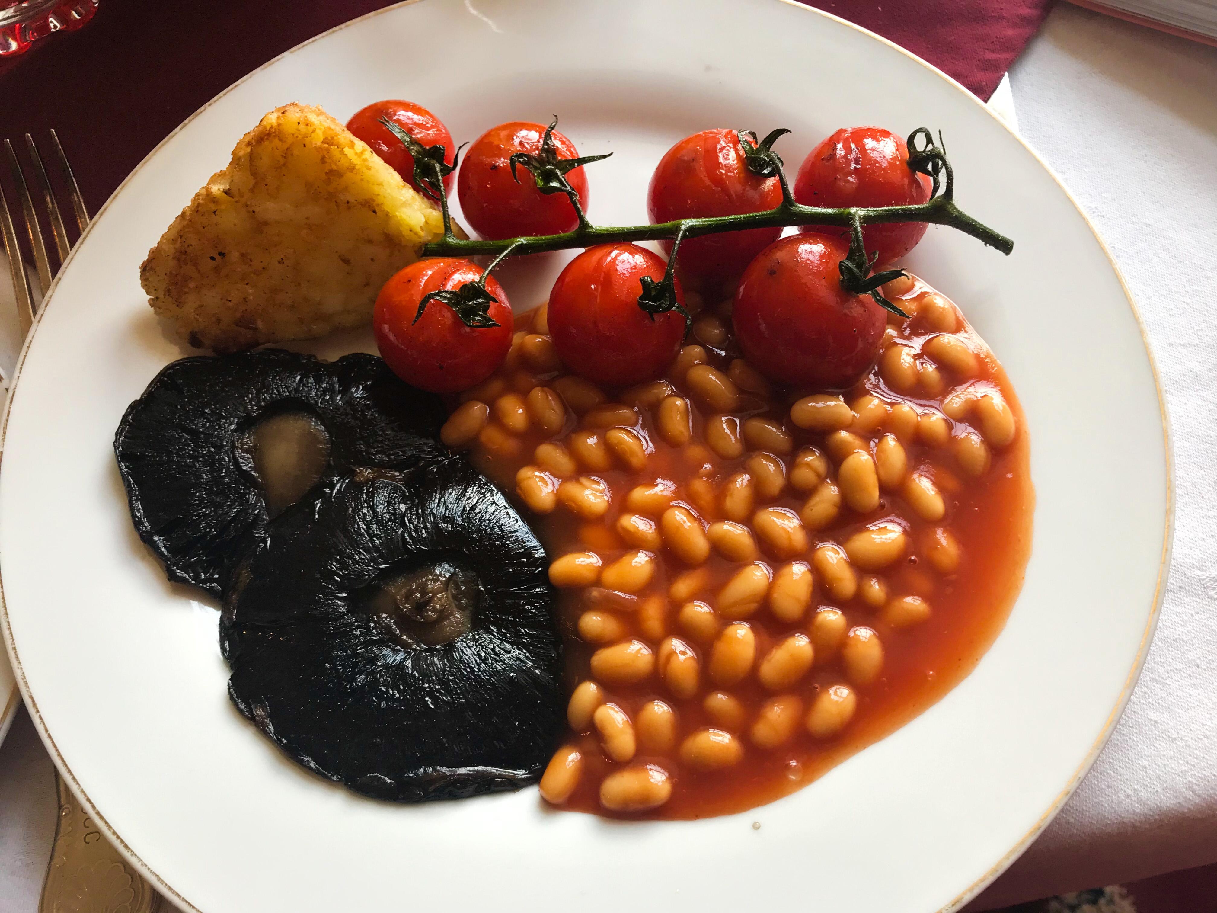 Vegan breakfast