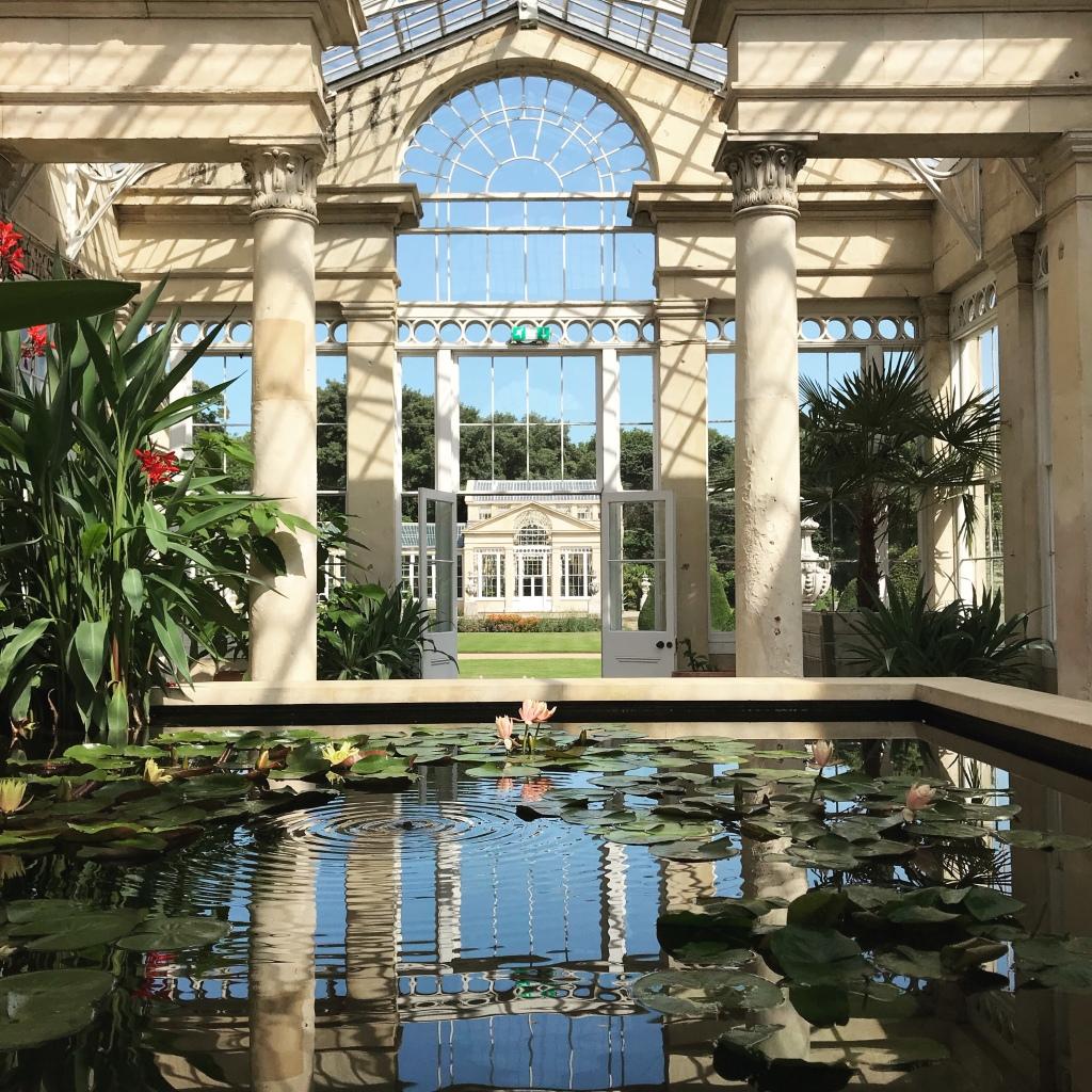 Syon Park Conservatory Pond