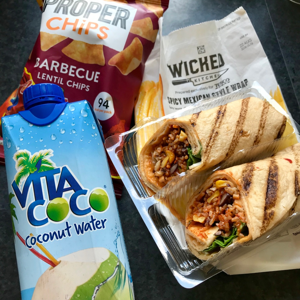 Tesco Vegan Lunch Deal
