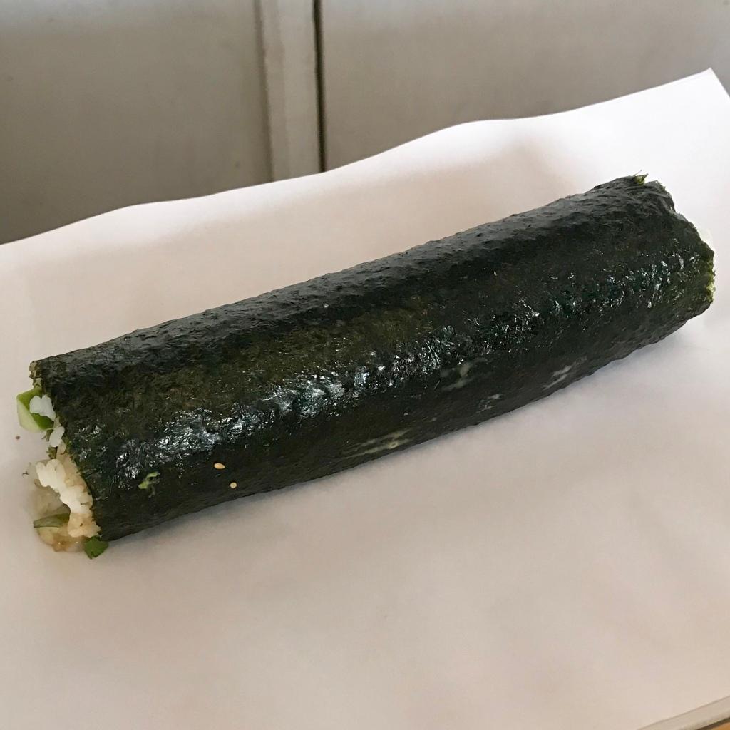 sushi roll long one - gimme veg