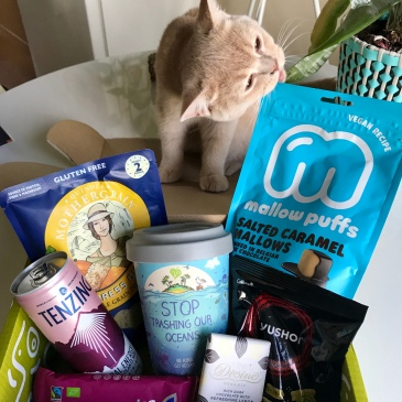 The September TVK Vegan Subscription Box and Kitty Chew