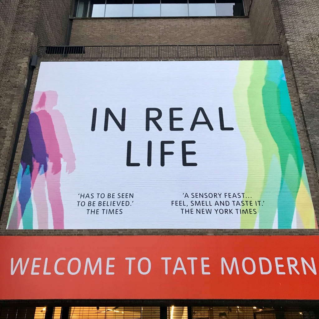 In real life at the Tate Modern - Gimme Veg