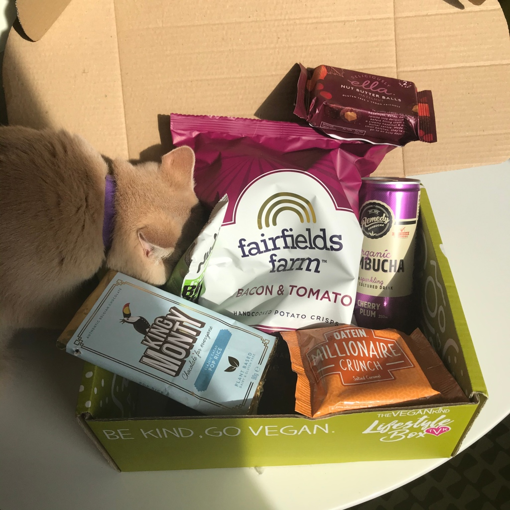 The Vegankind Vegan Lifestyle Box and kitty